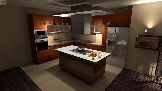 יתרונות של איים למטבחים