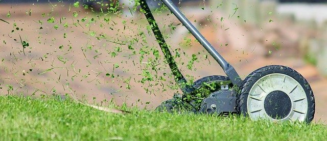 לשמר את מכסחת הדשא